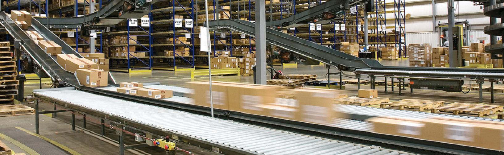 A Honeywell Intelligrated conveyor belt