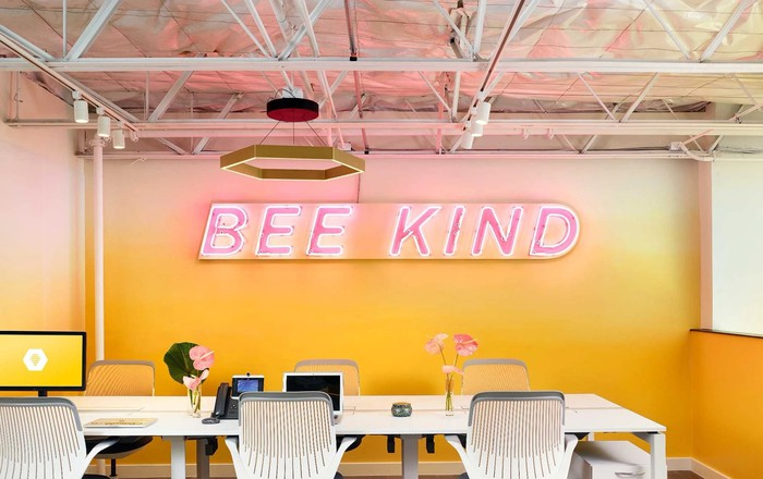 Bumble's offices.
