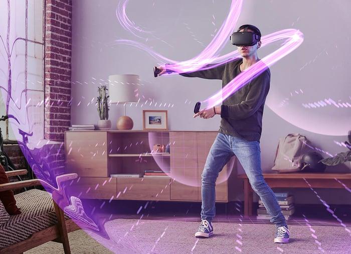 Facebook's Oculus Quest.