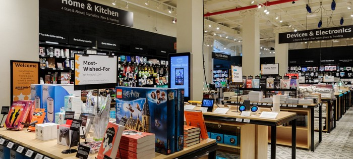 A view of Amazon's new 4-Star store.