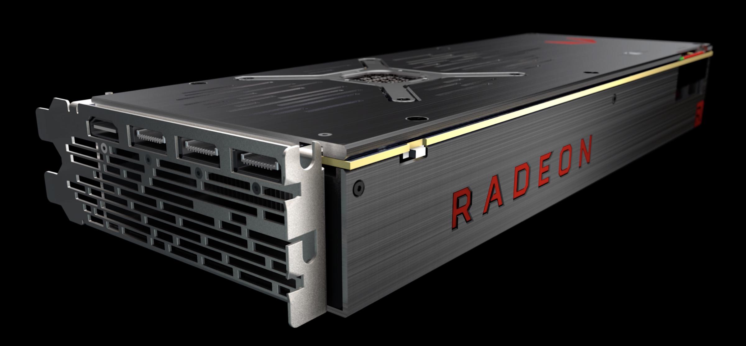 AMD graphics processing unit.