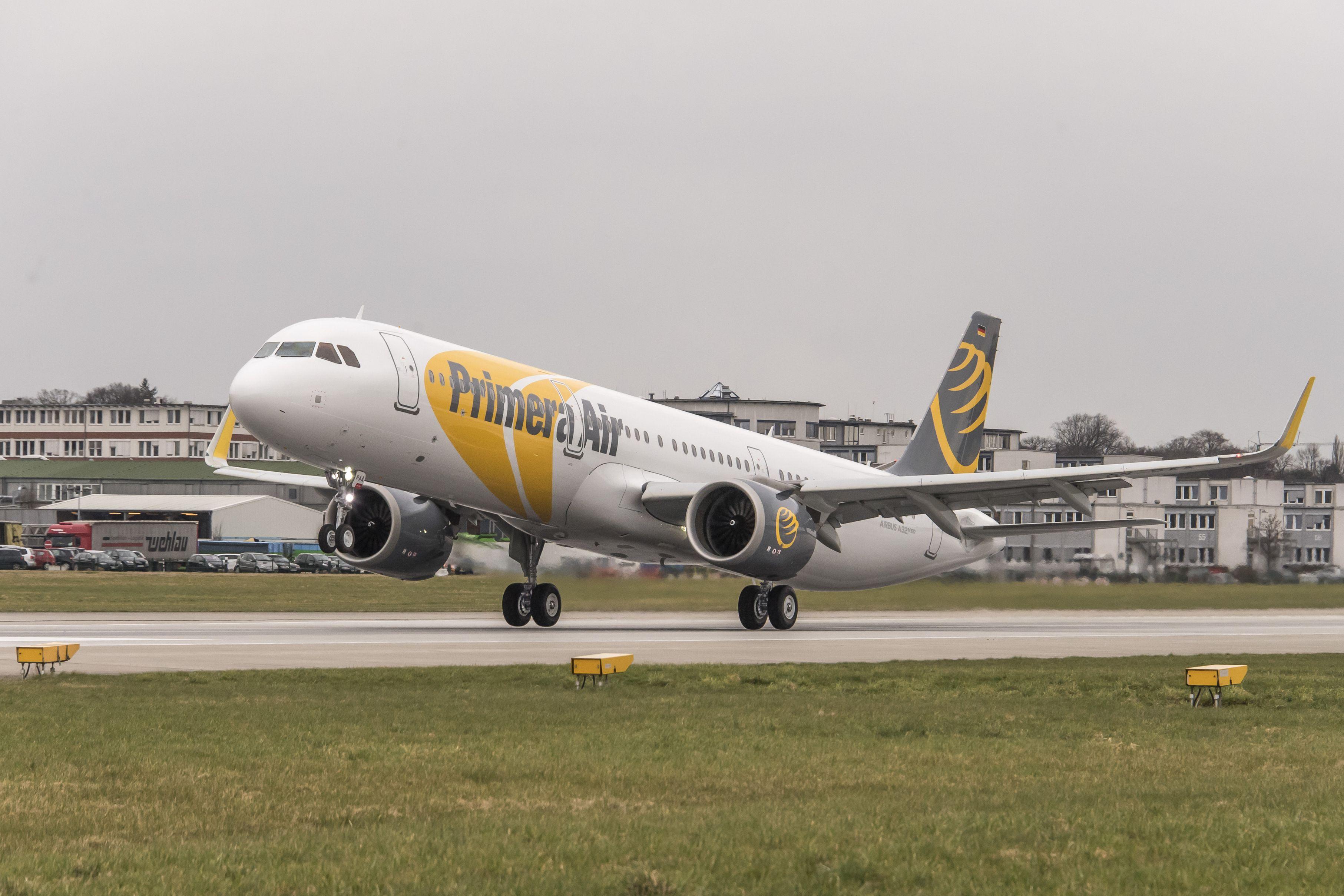 A Primera Air Airbus A321neo