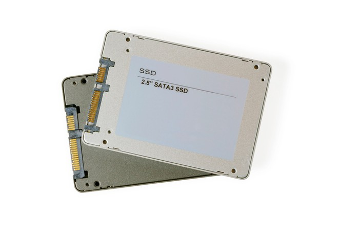 Two SSDs.