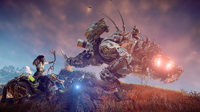 "An image from Sony's ""Horizon Zero Dawn."""