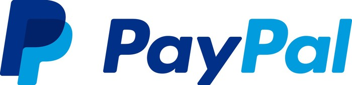 PayPal logo with dual P's.