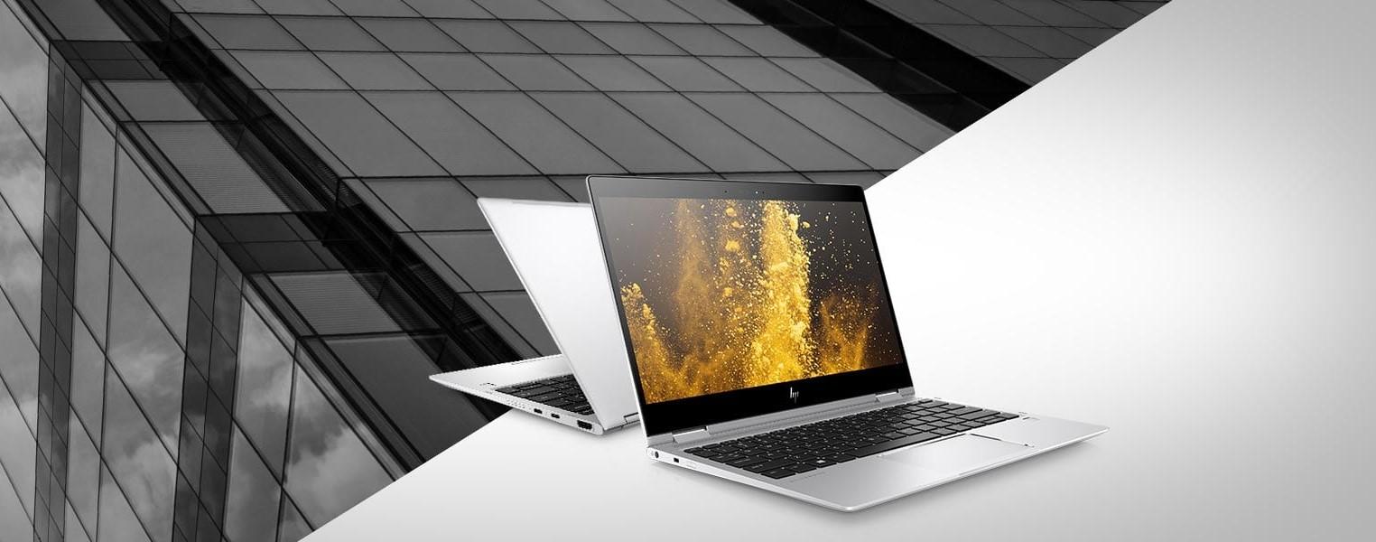 An HP laptop.