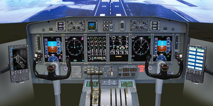 Esterline's electronic cockpit display