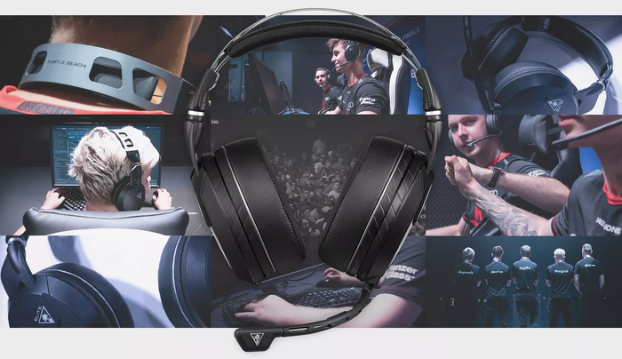 A gaming headset.