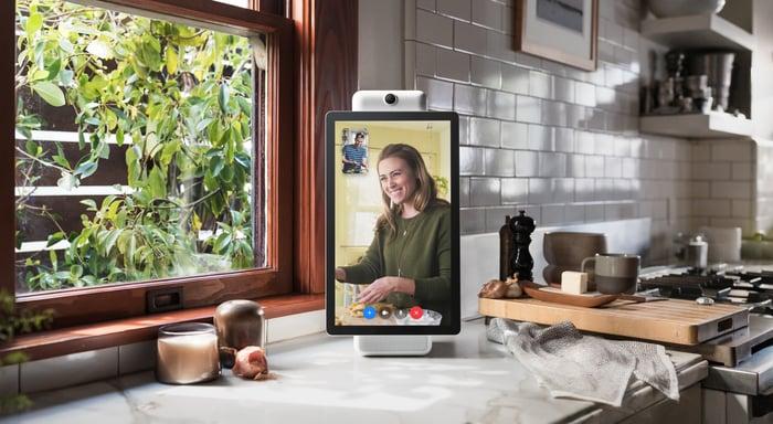 Portal+ in a kitchen