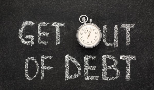 Getty - get out of debt credit card interest rate budget save spend