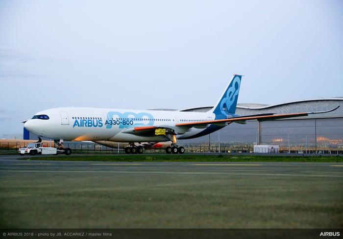 An Airbus A330-800neo