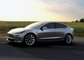 Industrials-Autos-Tesla Model 3-TSLA