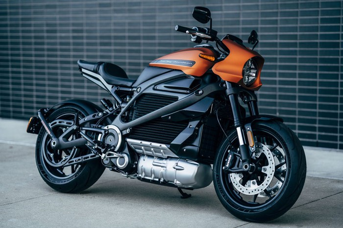 Harley-Davidson LiveWire electric motorcycle