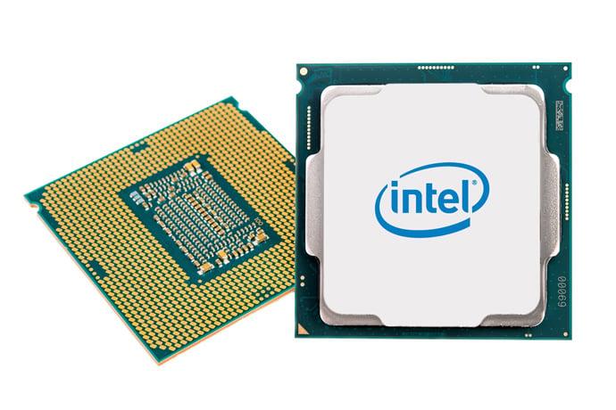 Two Intel desktop CPUs