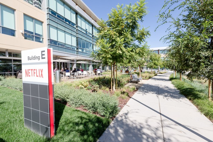Netflix's Los Gatos offices