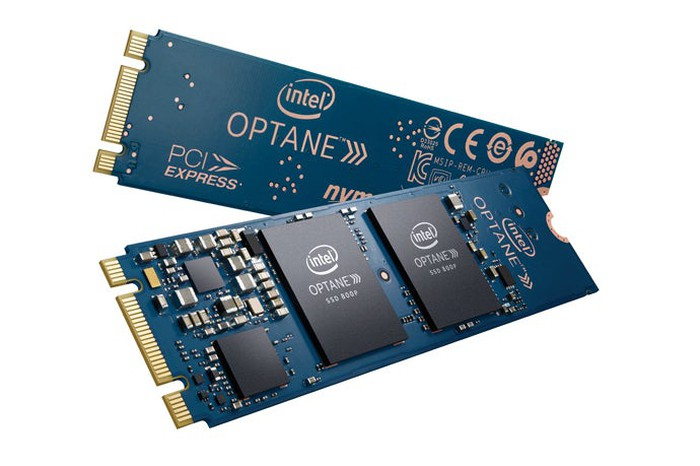 Intel 3D XPoint-based storage drives.