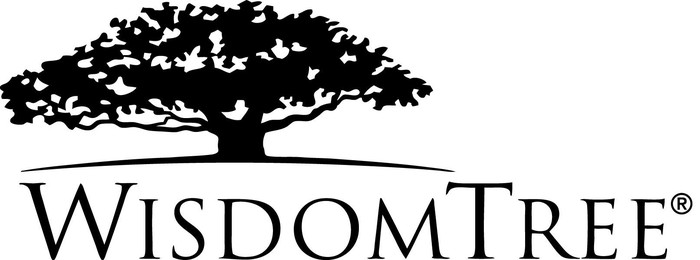 Logo showing a tree and the WisdomTree trademark.