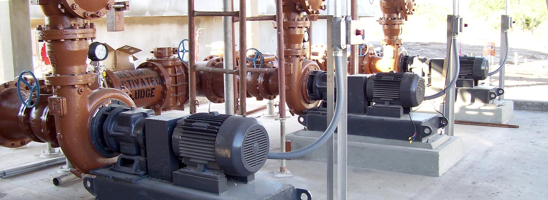 A Roper Technologies (Cornell) municipal wastewater pump.