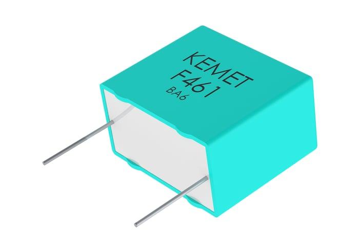 A KEMET capacitor.