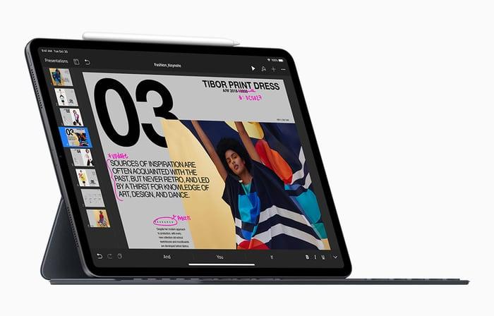 Apple's new iPad Pro product image on white background.