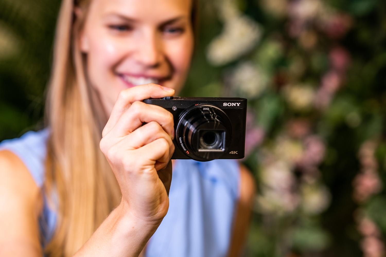 A Sony digital camera.