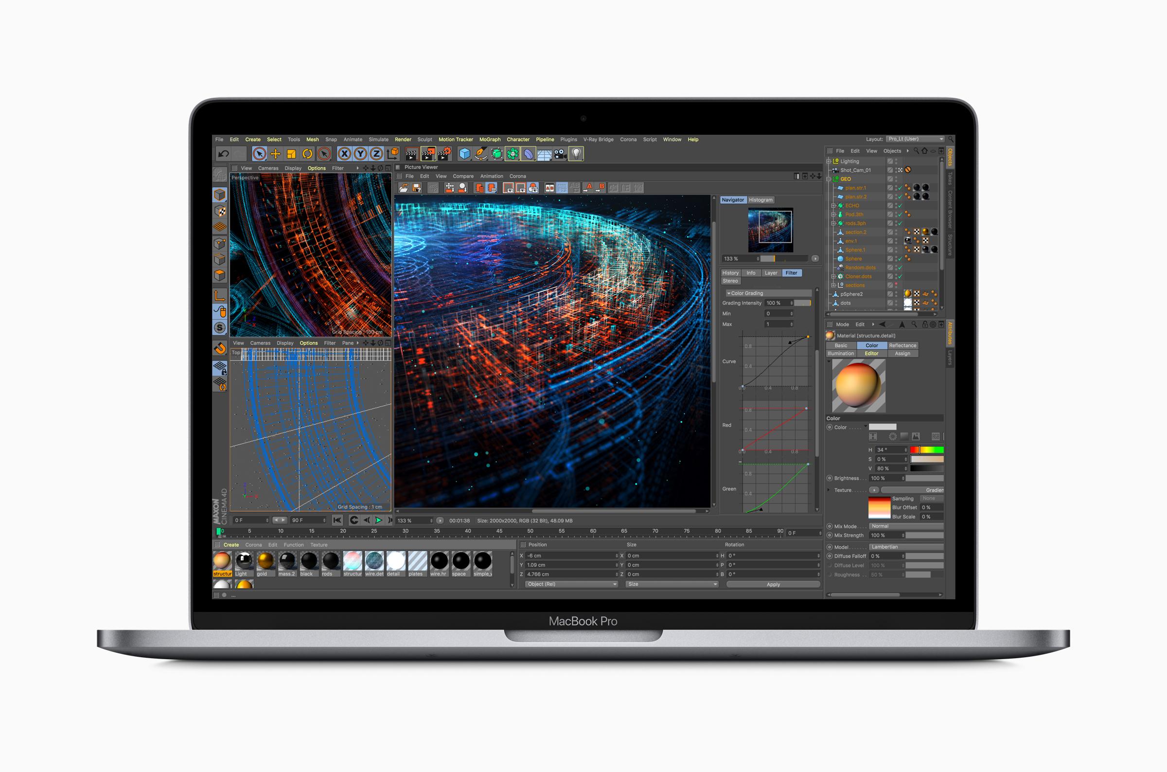 Apple's 15-inch MacBook Pro.