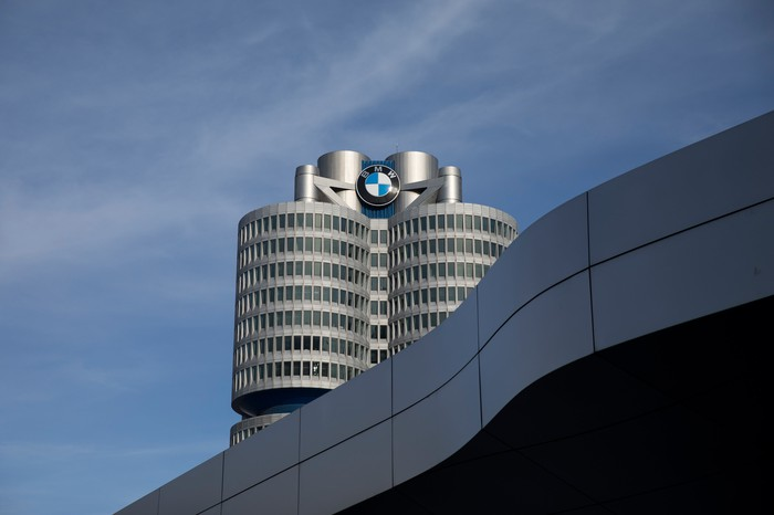 BMW's corporate headquarters in Munich, Germany.
