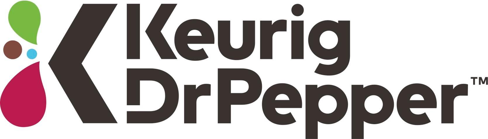 Keurig Dr Pepper logo on white background.