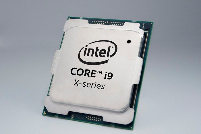 An Intel Core i9 chip.