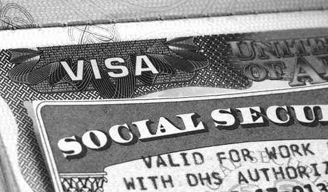 Social Security Visa Immigrant Benefits Retire Payroll Tax Getty