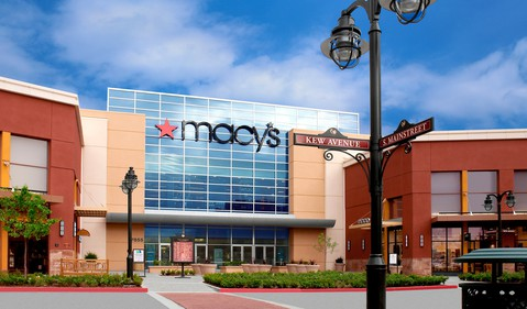 Retail Department Stores Macys Store M