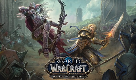 World of Warcraft Battle for Azeroth game art