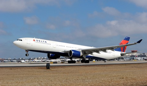 Airline-Delta Air Lines-DAL-Airbus A330-300