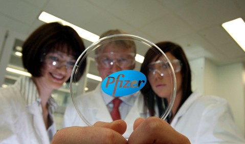Pfizer scientists from Pfizer website