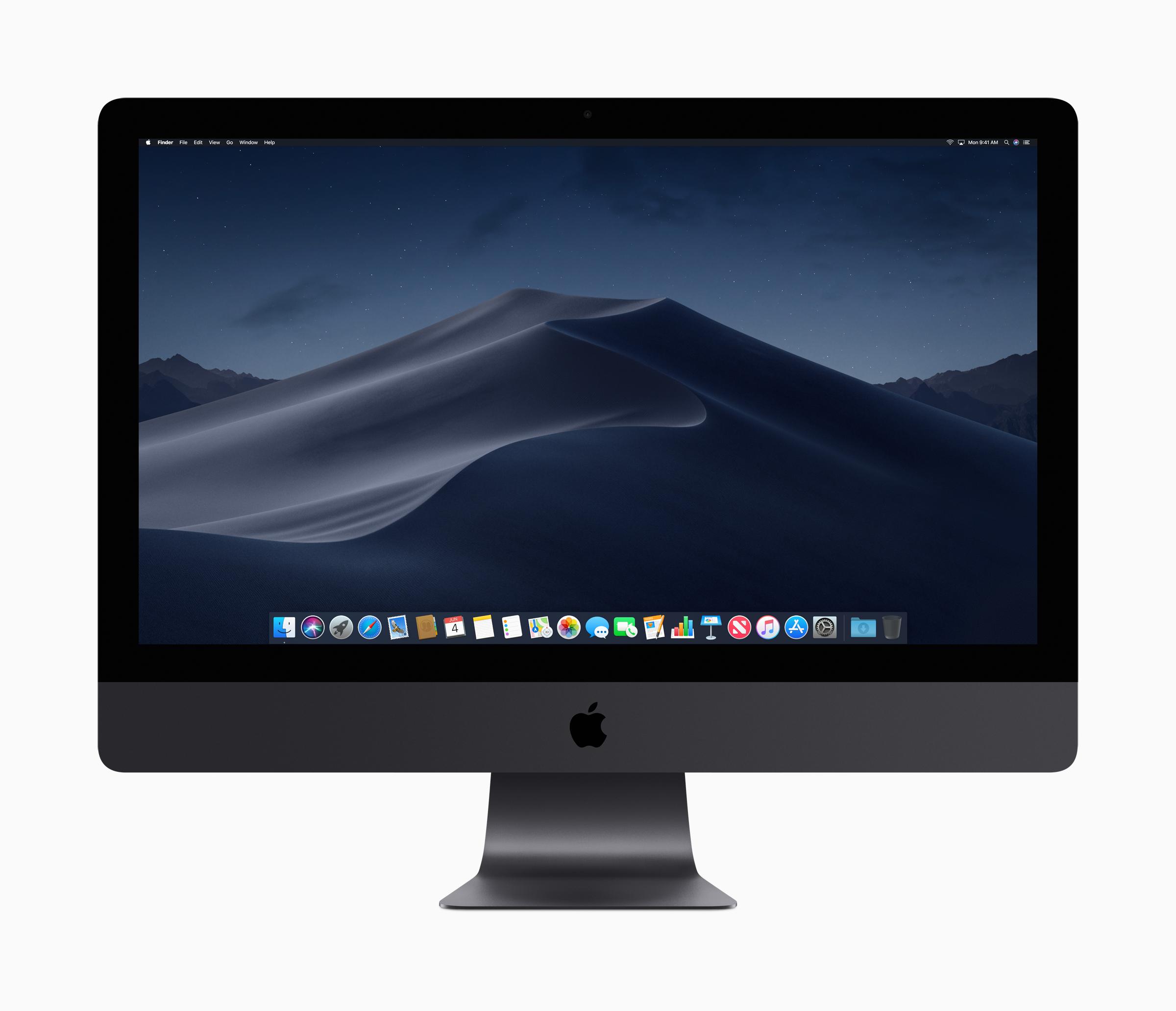 Apple's iMac Pro.