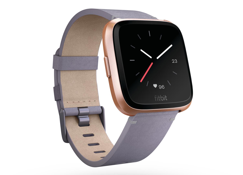 Fitbit's Versa smartwatch.