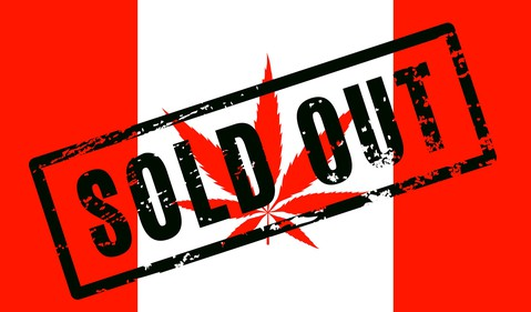Cannabis Sold Out Canada Marijuana Weed Pot Legal Supply Demand Getty