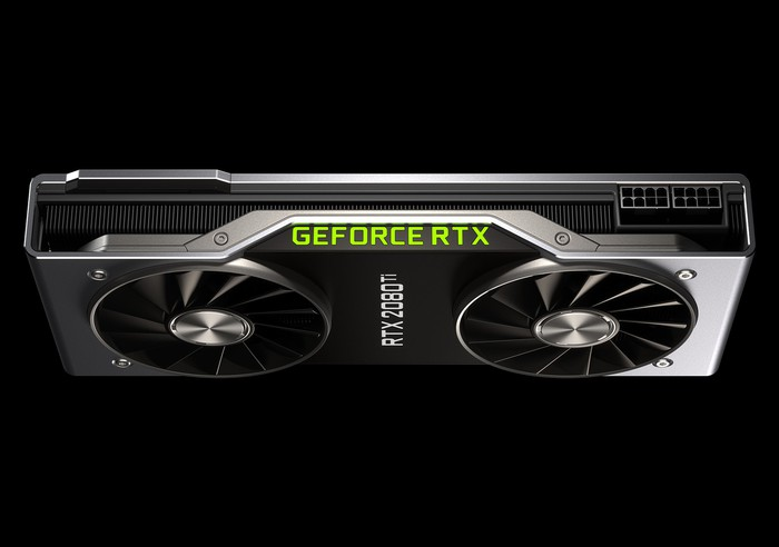NVIDIA's GeForce RTX 2080 Ti graphics card.