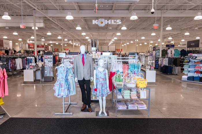 A smaller format Kohl's store.