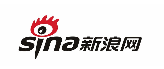 SINA logo in both English and Chinese