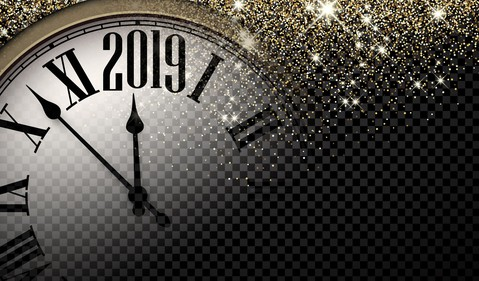 Countdown Clock to 2019 -- GettyImages-1016623152