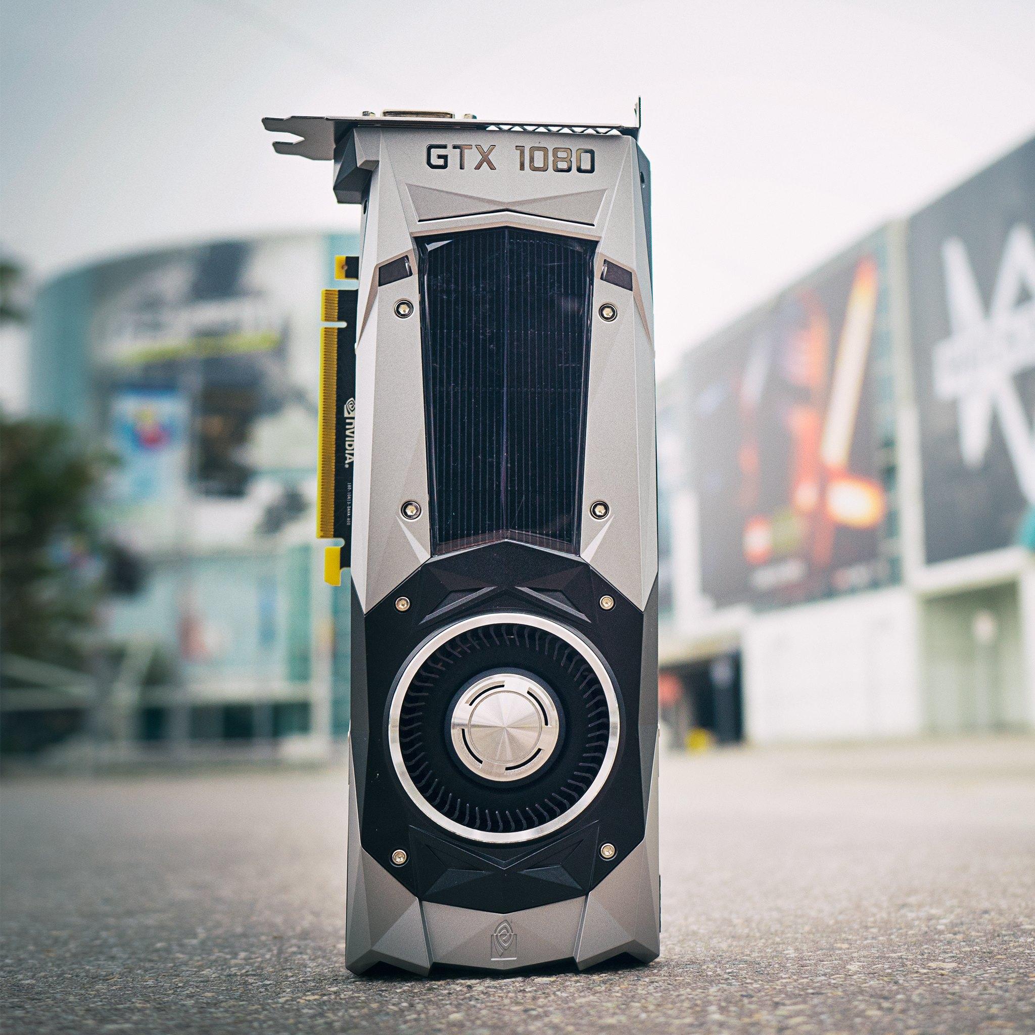 An NVIDIA GPU.