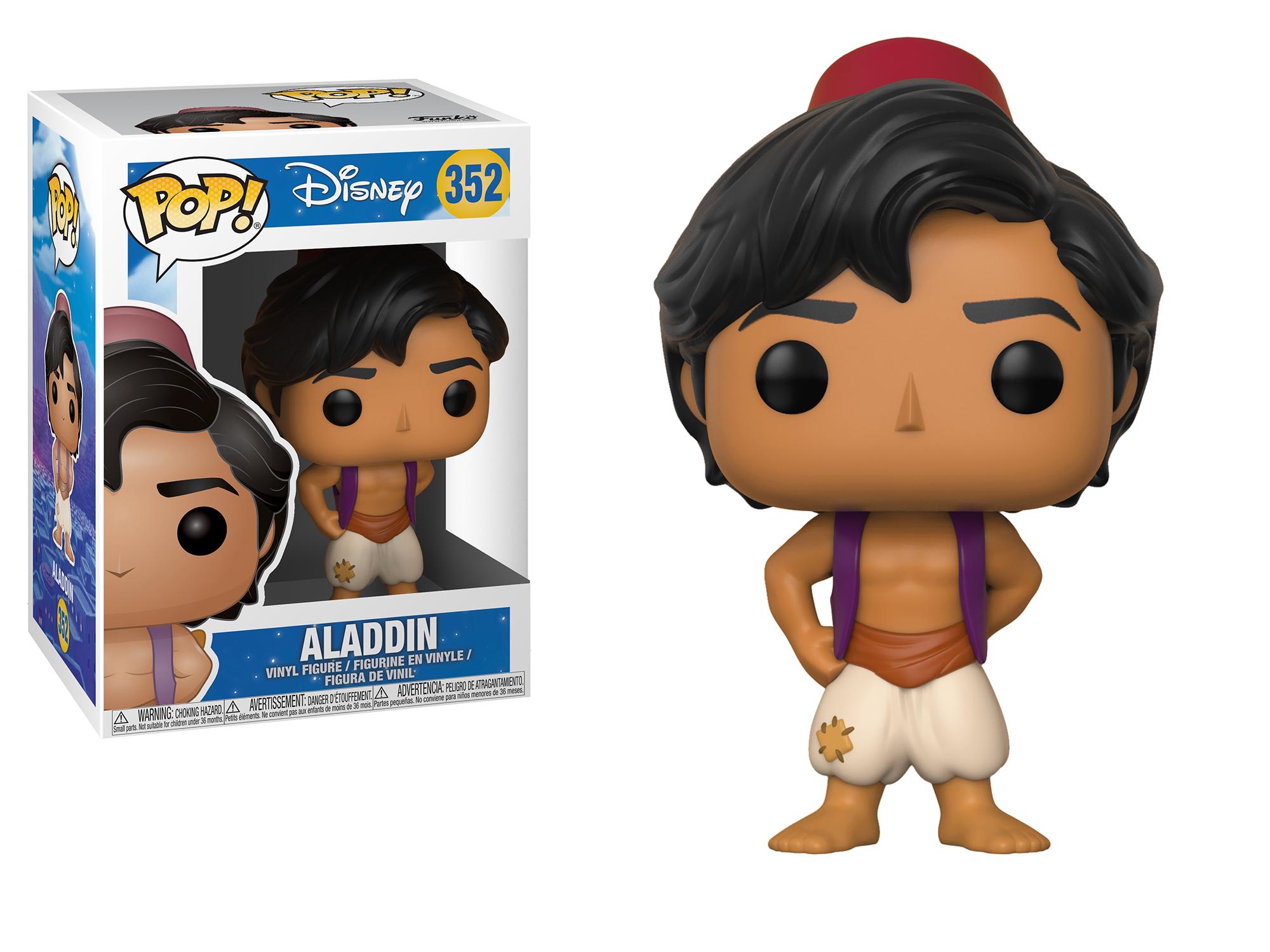 An Aladdin Funko Pop! figurine.