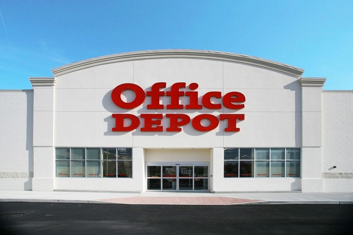 Office Depot store front