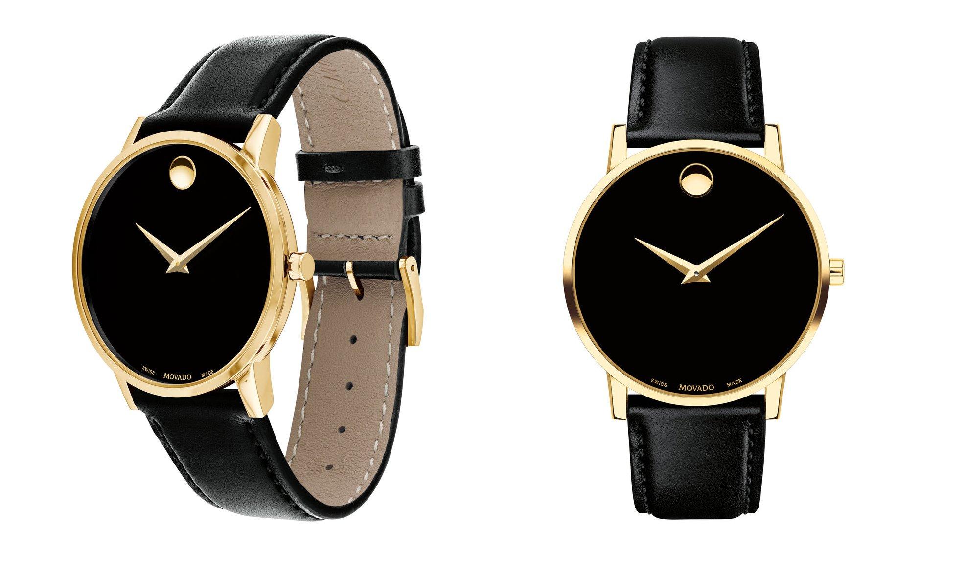 A Movado watch.