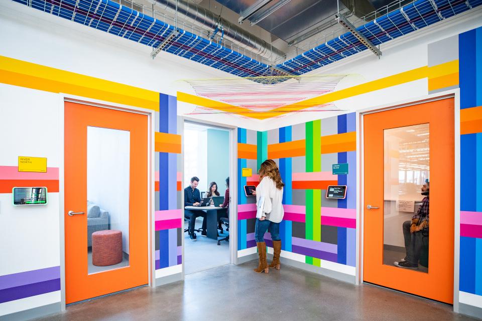 Inside Facebook's Denver office.