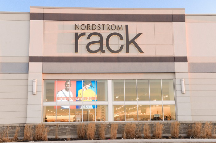 The exterior of a Nordstrom Rack