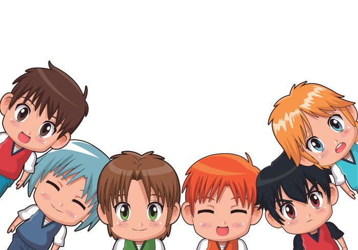 Anime-style characters.