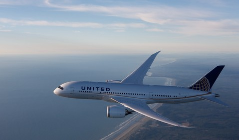 Airline-United Continental-UAL-Boeing 787 Dreamliner-BA