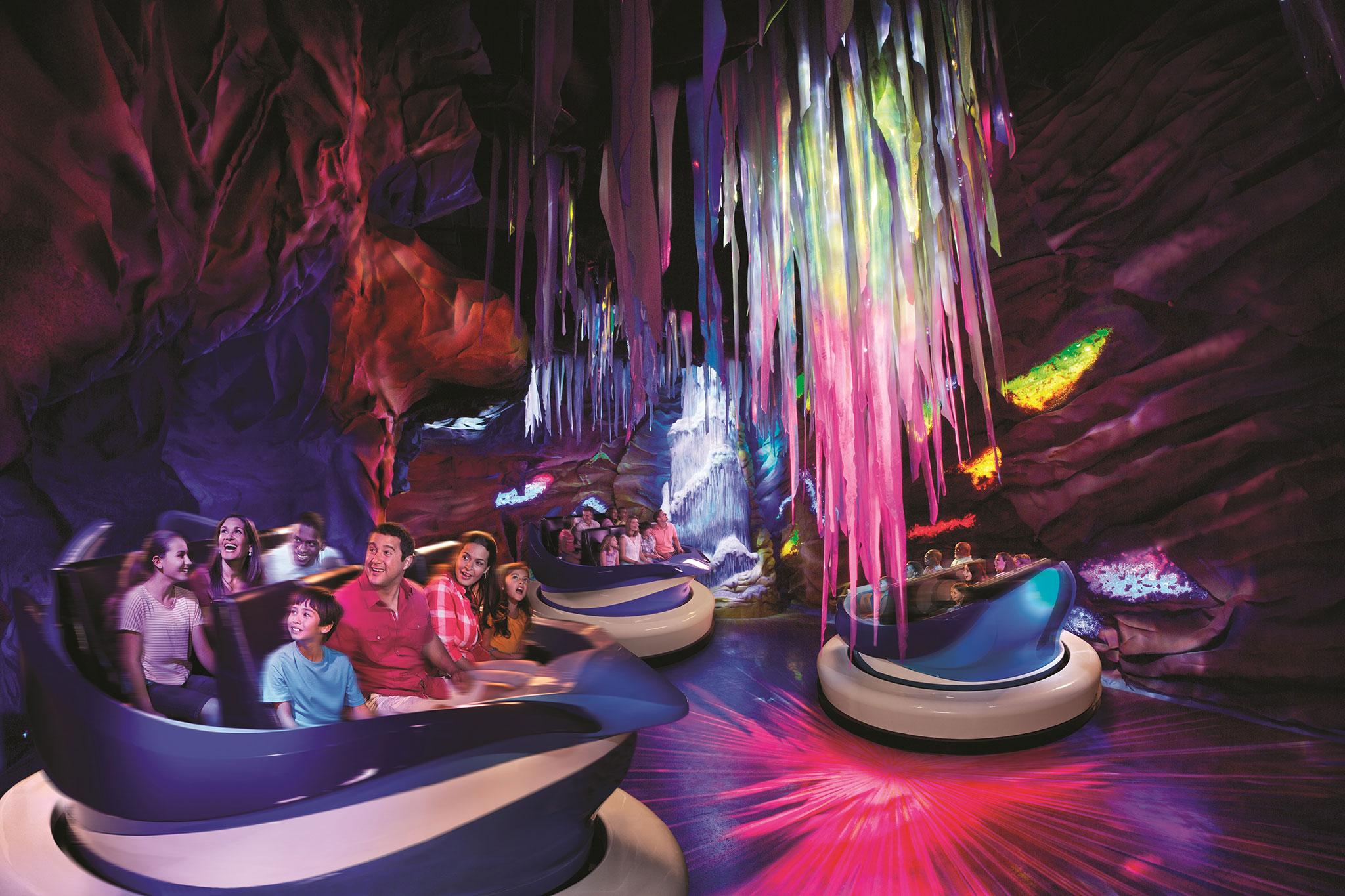 SeaWorld Orlando's Empire of the Penguin ride.